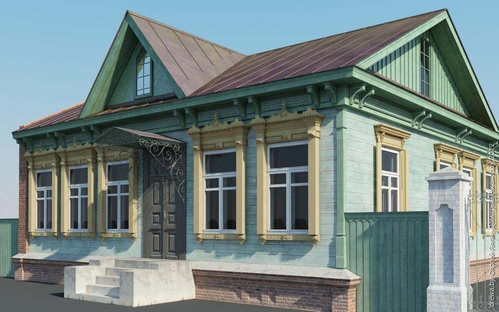 3D рэканструкцыя дому
