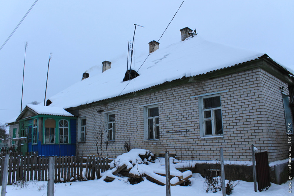 Сядзібны дом у Гарадзішчы