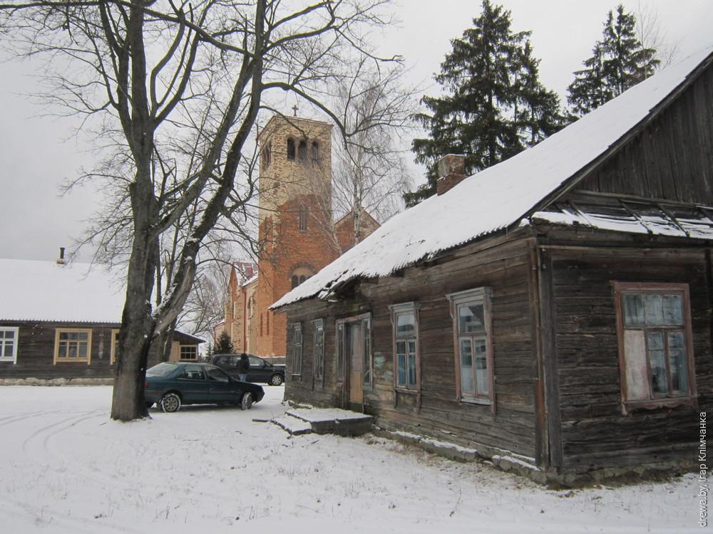 Хатава. Школа (будынак №1 і 2)
