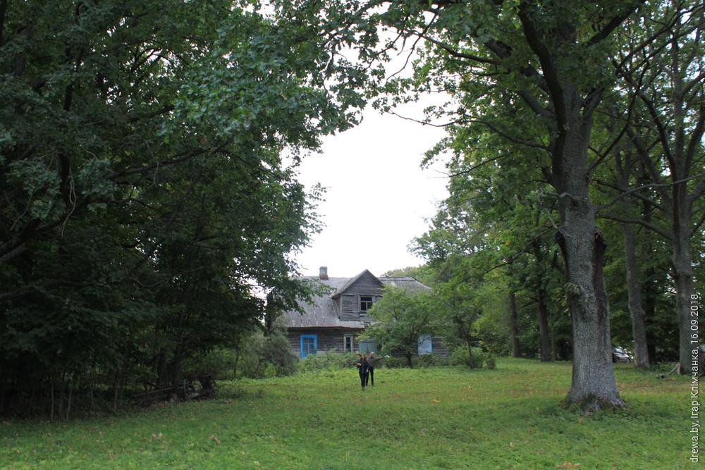 Дрысвяты. Маёнтак баронаў фон Гільденбандтаў. Міжваенны дом у парку.