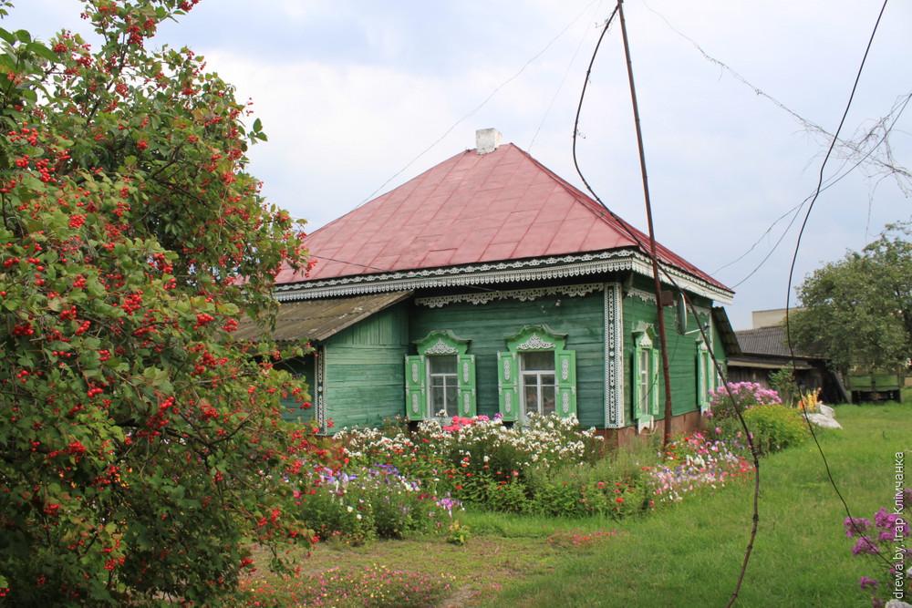 Местачковая забудова у в.Давыдаўка