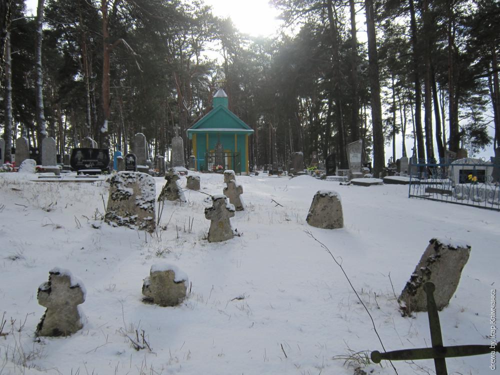 Кальварыйская капліца у м. Дзераўная