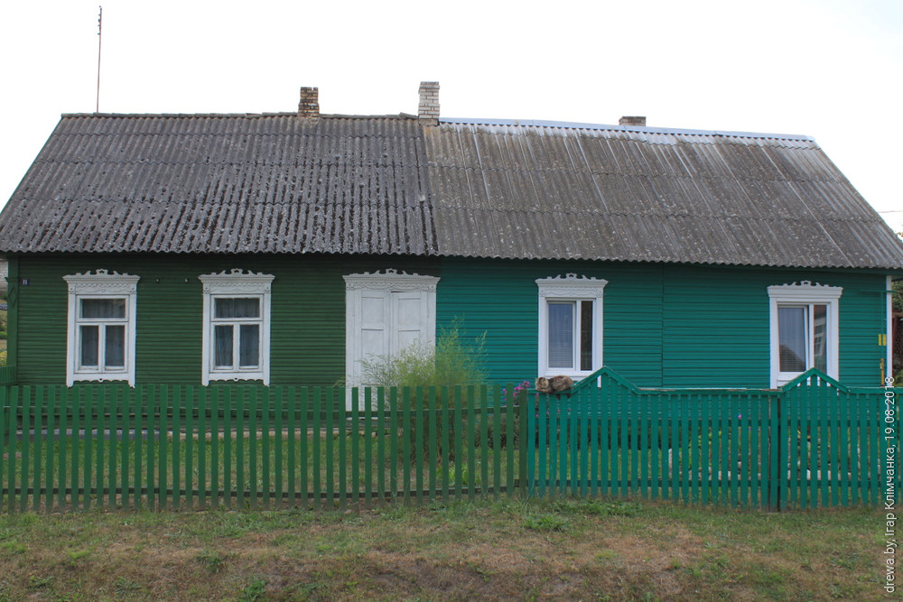 Міжваенныя дамы у г.Косава, на вул.Касцюшкі,  дом № 11