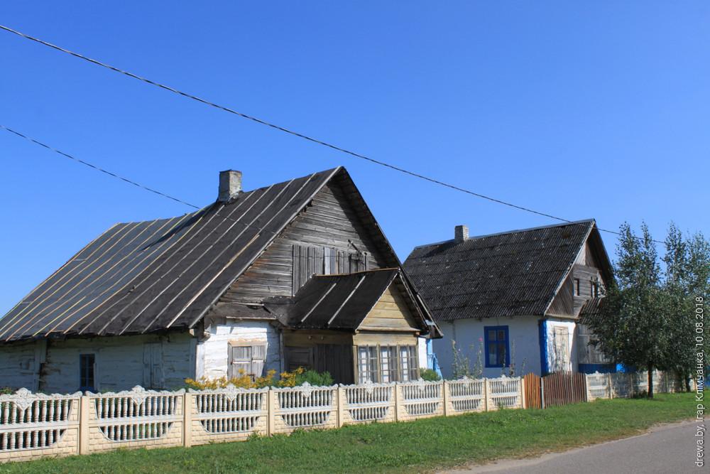 Каменка. Крамы на Рынку (вул.Земцова-17 і 19))