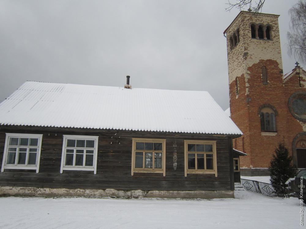 Хатава. Школа (будынак №2)