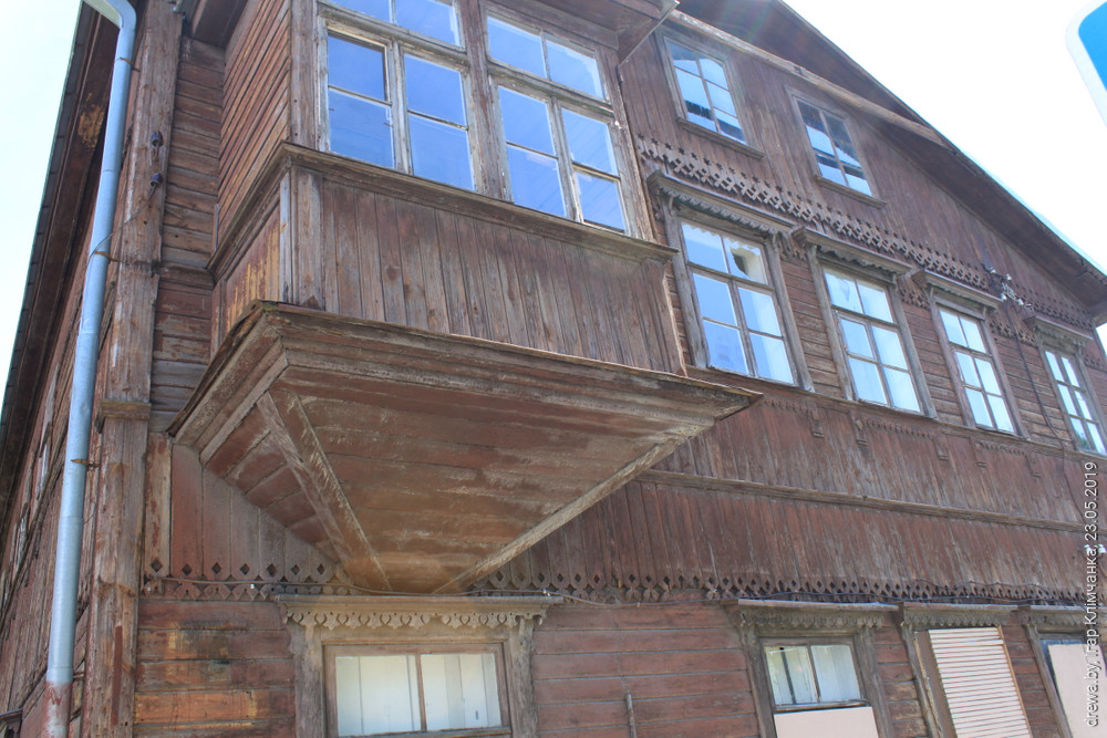 Балкон . Гродна, вул.17 Верасня-53