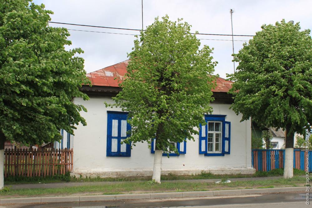 Вулічны фасад.