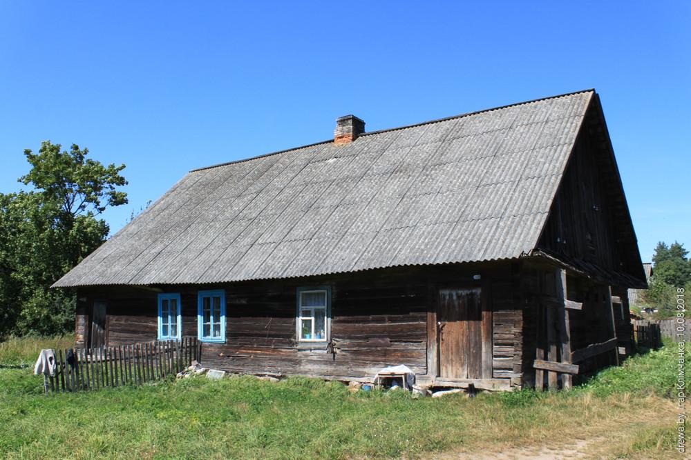 Дзембрава. Фальварак Сапегаў (Дом для працаўнікоў)