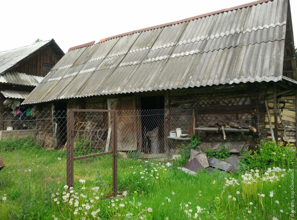 Застенак Баркаўшчына ( хлеў)