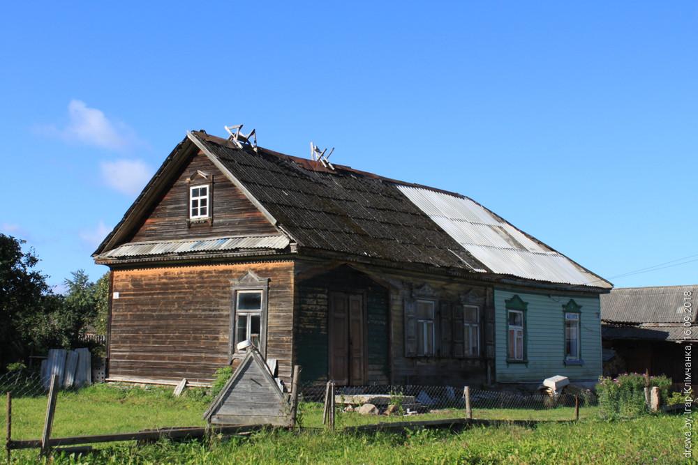 Друя. Гарадская сядзіба (дом па вул.Энгельса-12). 1890г.